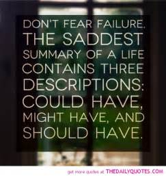 Quotes About Fear Failure