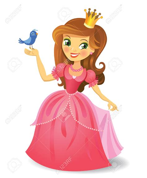 Images Of Princess Clipart Princess Pencil And In Color