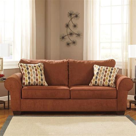terracotta sofa living room deandre terra cotta sofa sofas living room furniture