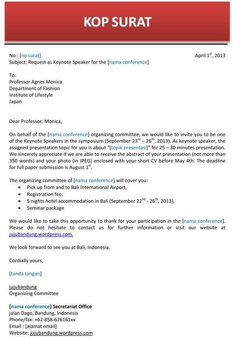contoh surat balasan undangan bahasa inggris contoh isi