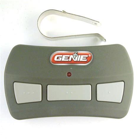 Genie Gitr3 Intellicode 3button Garage Door Remote