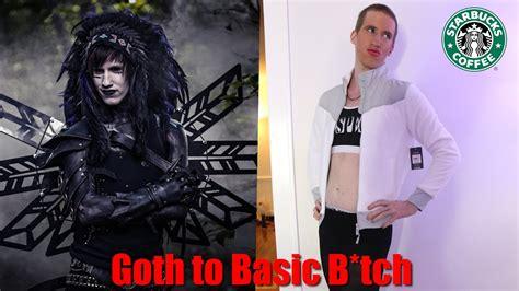 Goth to Basic B*tch (TRANSFORMATION) - YouTube