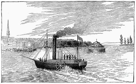 Steamboat Fulton by Pin Robert Fulton Steamboat For Image Search Results