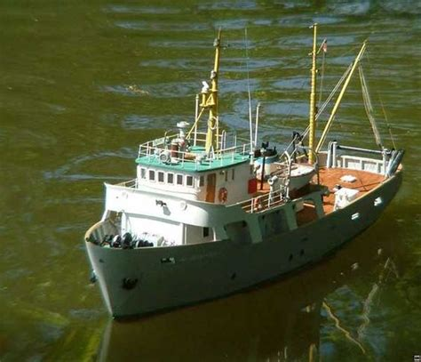Fishing Boat Model by Hobby Al Moktashef Fishing Vessel Blueprints Free Model