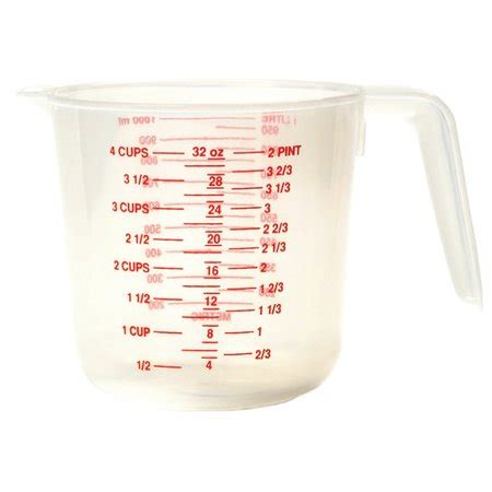 Norpro 4 Cup Plastic Measuring Cup Walmartcom