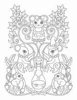 Coloring Pages Para Potion Caderno Flores Salvo Uploaded User sketch template