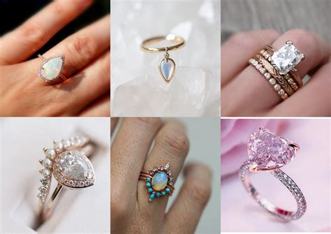 13 Gorgeous Engagement Rings For The Girls Who Want. Oregon Sunstone Engagement Rings. Staghead Wedding Rings. Round Raised Wedding Rings. Lattice Engagement Rings. Ultra Thin Engagement Rings. Teal Wedding Rings. Moldavite Wedding Rings. 5.3 Carat Engagement Rings