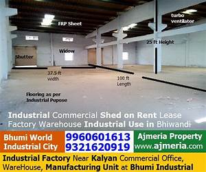 Industrial Factory Near Kalyan Commercial Office, Ware ...