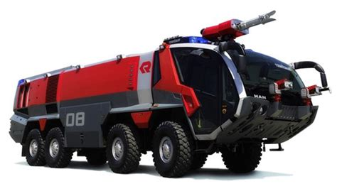 rosenbauer panther a beautiful fire fire truck built for use at near airports it s considered
