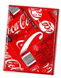 passport cover from recycled coca cola bottle labels With custom coke bottle label