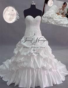 robe de mariee princesse avec traine et strass With robe de mariée bustier strass