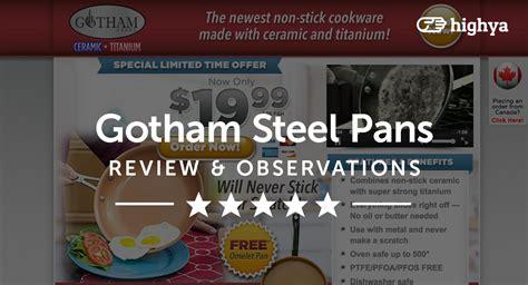 gotham steel pans reviews    scam  legit