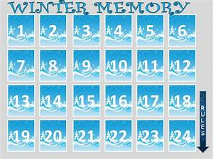 winter memory game by evaszucs teaching resources tes With memory game template for powerpoint