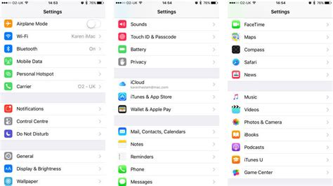 settings for iphone how to use settings in ios to configure your or