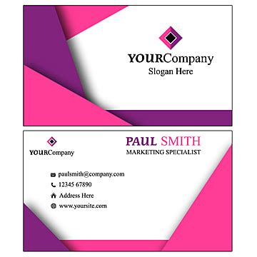 watercolor floral visiting card template template