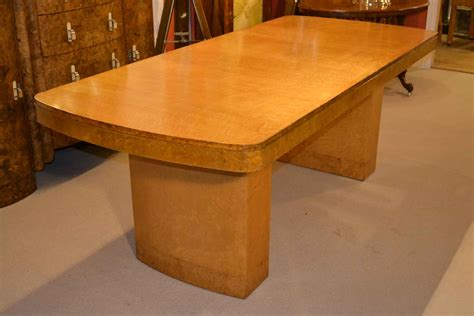 antique maple dining table antique art deco birdseye maple dining table c1920