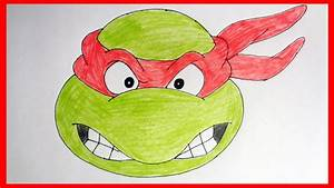 Ninja Turtle Face Drawing At Getdrawingscom Free For