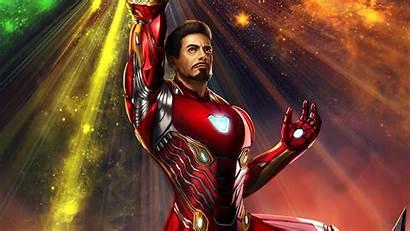 Iron Wallpapers Gauntlet Infinity Wielding Superheroes 4k