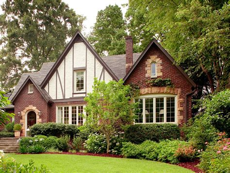 tudor style traditional home