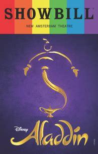 Aladdin - June 2017 Playbill with Rainbow Pride Logo ...