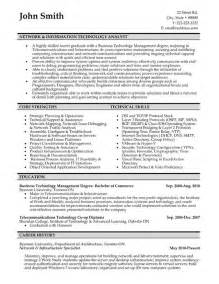resume format for information technology top information technology resume templates sles