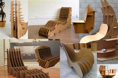 Id Cardboard Chair  Jason Azares