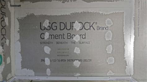 Hardibacker Tile Backer Board Any Questions by Is Hardibacker And Durock Cement Board Waterproof