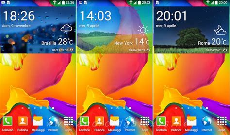 widget meteo bureau widget meteo accuweather galaxy s5 su galaxy s4 e note