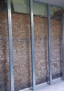 Isoler Une Porte De Garage : cloison sur rail fabulous la poutre nuetant pas droite je ~ Dailycaller-alerts.com Idées de Décoration
