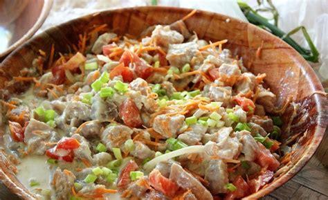 cuisine tahitienne polynésie la recette du véritable poisson cru à la