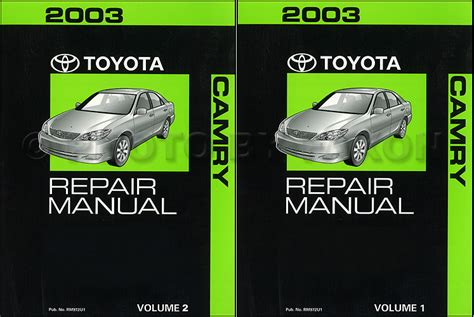 car service manuals pdf 1999 toyota camry electronic throttle control 2003 toyota camry repair shop manual supplement original all mid year 6 cyl plus calif 4 cyl