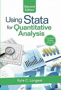 Testbank For Using Stata For Quantitative Analysis  2nd