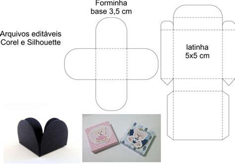 molde de forminha e caixa para latinha no elo7 festcomics 706189