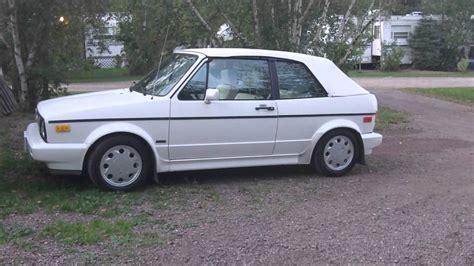 vw cabriolet 1992