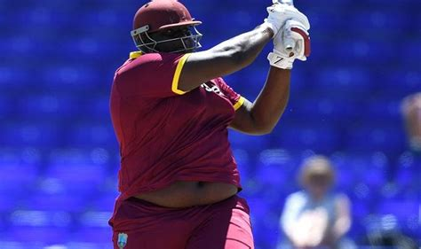 england  west indies meet   kg giant  battered
