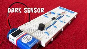 How To Make A Dark Sensor Using Ldr