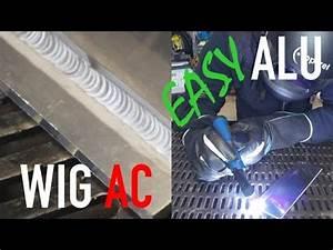 Alu Schweißen Wig : wig aluminium schwei kurs teil 2 mit puls einfach wig ac ~ Kayakingforconservation.com Haus und Dekorationen