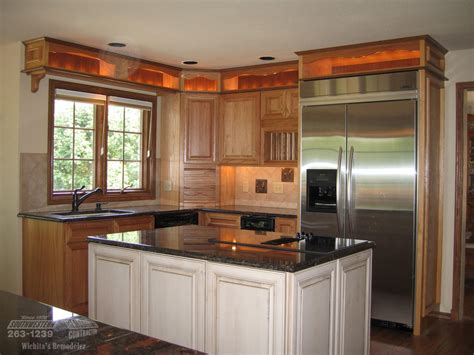 pictures of remodeled kitchens with white cabinets southwestern remodeling kitchen remodeling wichita 9729