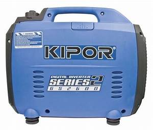 Kipor Gs2600 Digital Inverter Generator 2600watt Camping