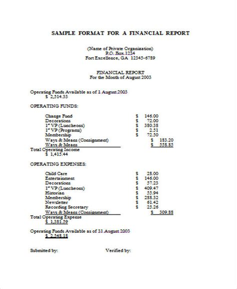 report samples  docs  premium templates