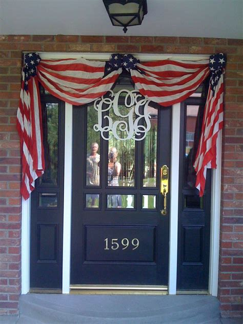 patriotic outdoor decorations best 25 patriotic decorations ideas on 4th of