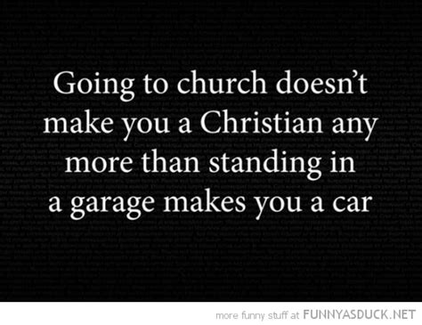 Funny Quotes About Going To Church
