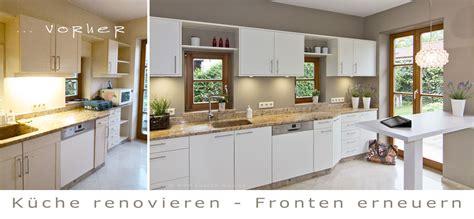 Neue Fronten Für Küche by Kueche Renovieren Haushaltsgeraete Erneuern