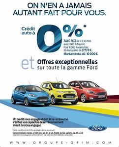 Pret Auto : credit auto taux 0 chez ford ~ Gottalentnigeria.com Avis de Voitures
