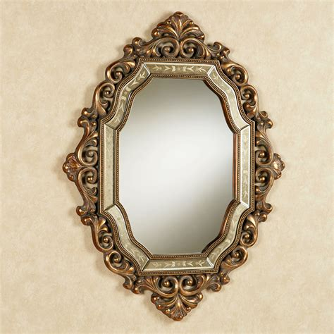 antique mirror verena old world wall mirror