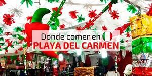 30 restaurantes en Playa del Carmen, Mexico (incluye mapa) Equipaje de Mano