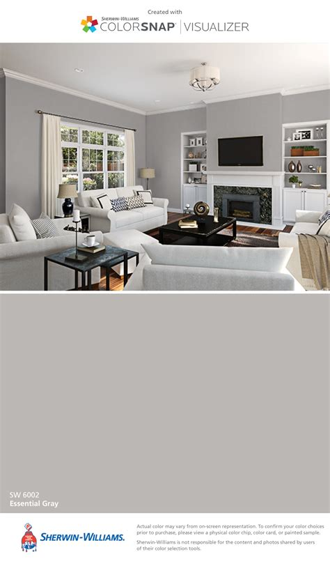Essential Gray Living Room by I Found This Color With Colorsnap 174 Visualizer For Iphone
