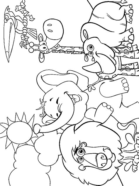 Coloring Zoo Animals by Zoo Animal Coloring Pages For Printable Or