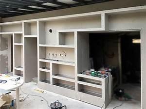 Grande Bibliothèque Murale : comment fabriquer une biblioth que murale ~ Teatrodelosmanantiales.com Idées de Décoration