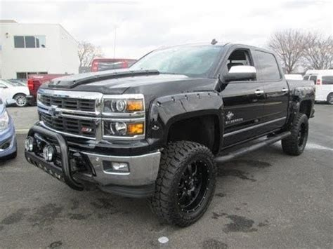 lifted  chevy silverado  southern comfort black